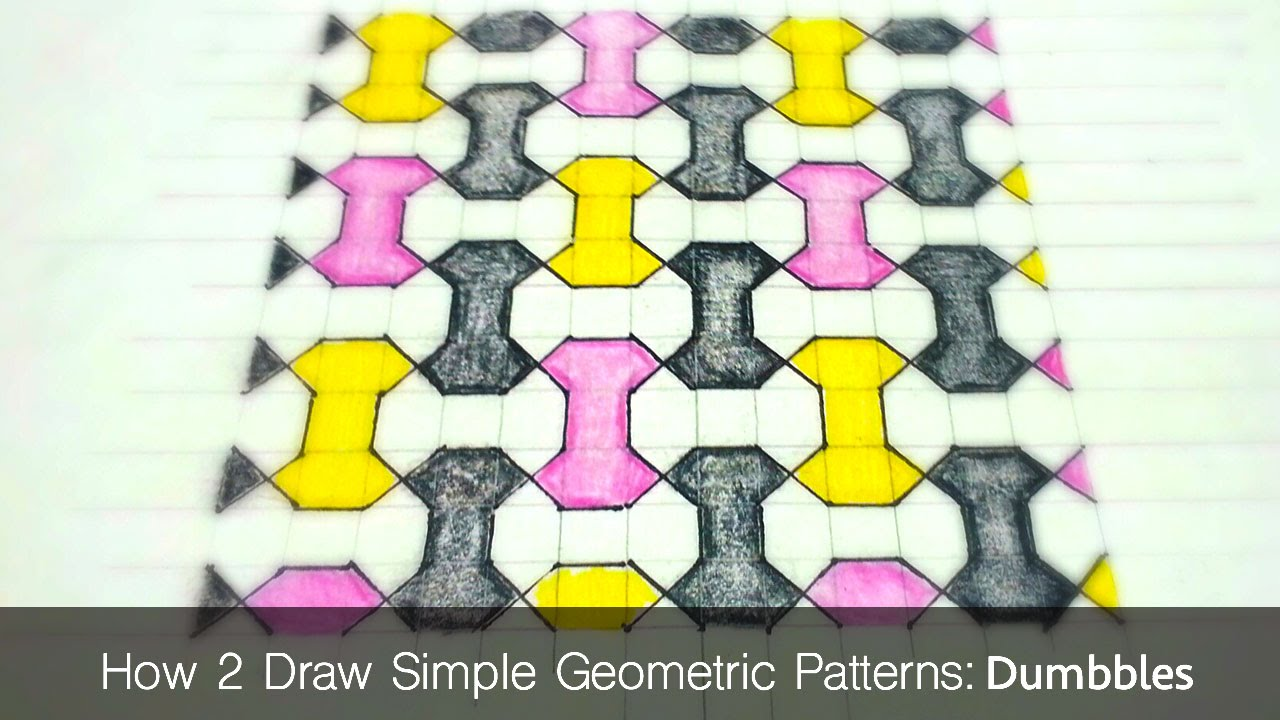 1280x720 How To Draw Simple Geometric Patterns