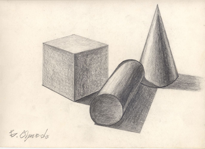 687x500 Photos Geometric Shape Drawings,