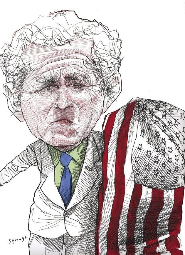 630x867 George Bush Drawings Bush George 110608.jpg Character Amp Celebs