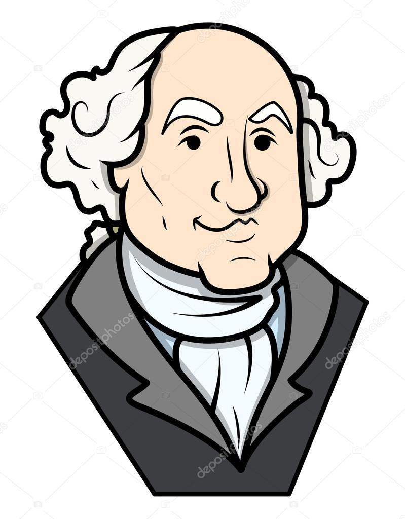 Dorable George Washington Para Colorear Las Actividades Molde ...