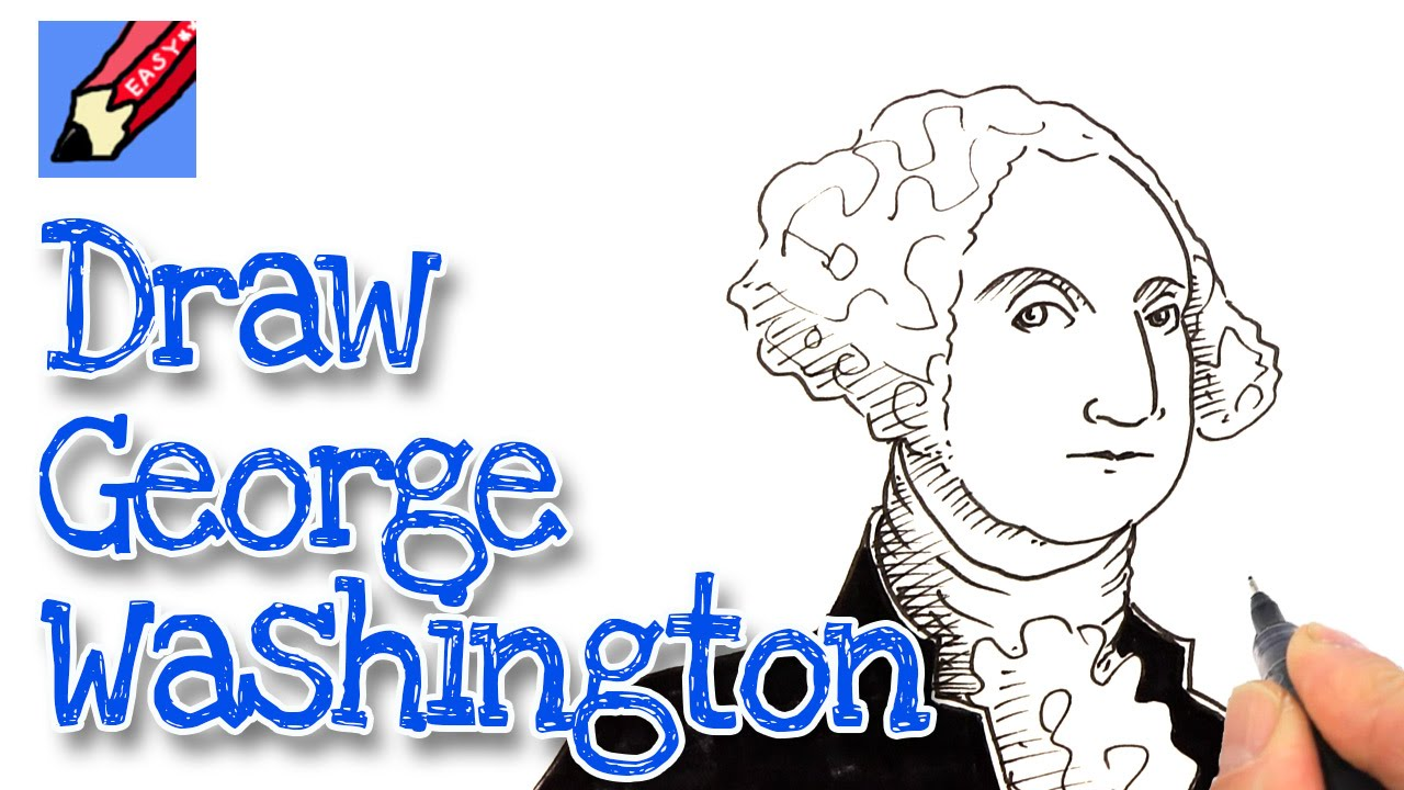 George Washington Drawing at GetDrawings.com | Free for personal use ...