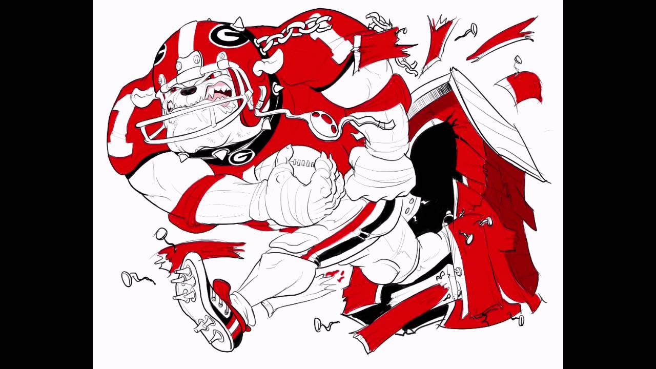 Georgia Bulldog Drawing at GetDrawings.com | Free for personal use ...