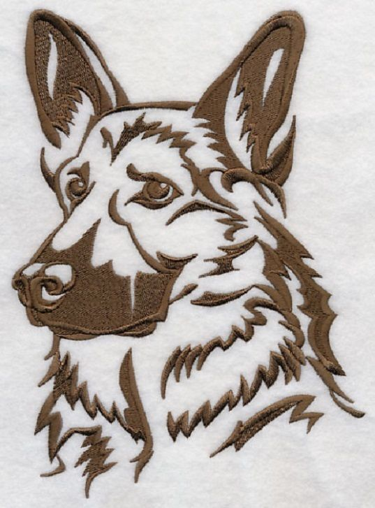 537x727 8 Best German Shepherd Tattoos Ideas Images On German