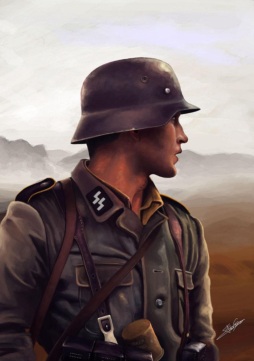 824x1169 German Soldier