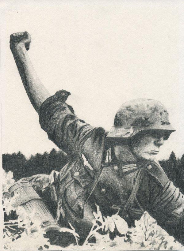600x820 German Wehrmacht Soldier By 90viper11
