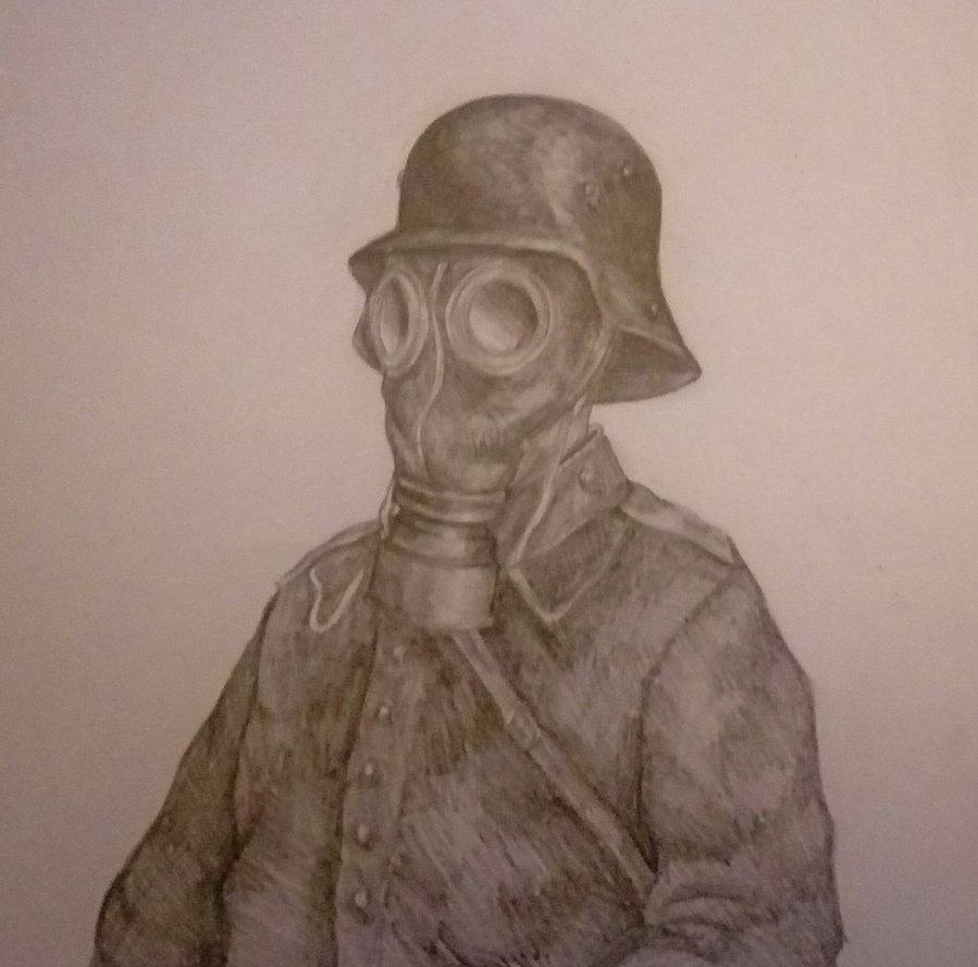 899x889 Ww1 German Soldier By Fritzorino