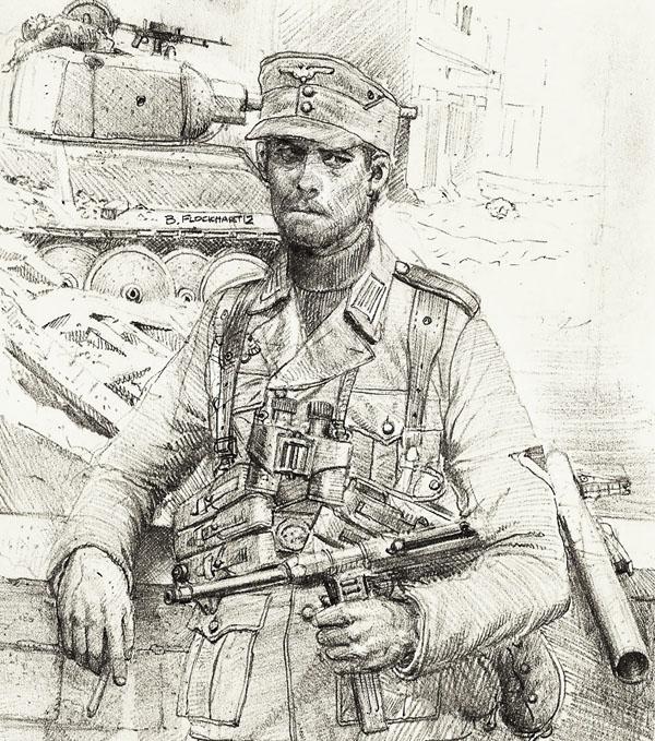 600x679 German Nco Eastern Front By Jesusfood