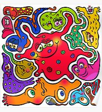 210x230 Germs Drawing Posters Redbubble