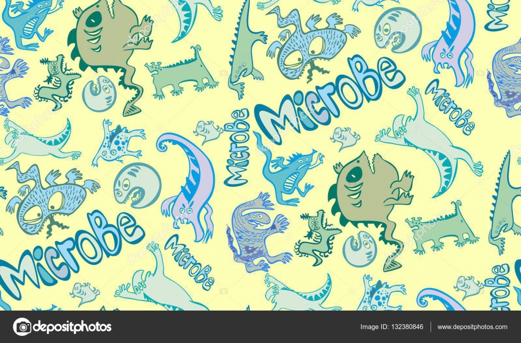 1024x676 The Pattern Of Microbes, Funny, Solid, A Lot Of Germs, Evil