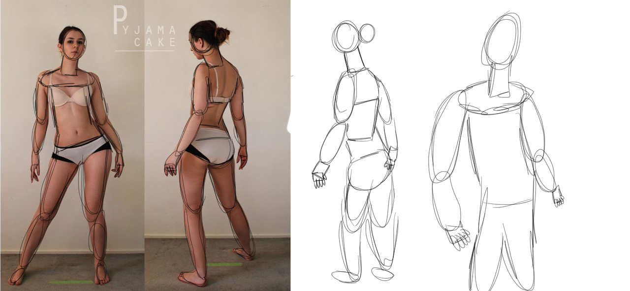 1280x591 Character Design Gesture Drawing By Lovetodraw16
