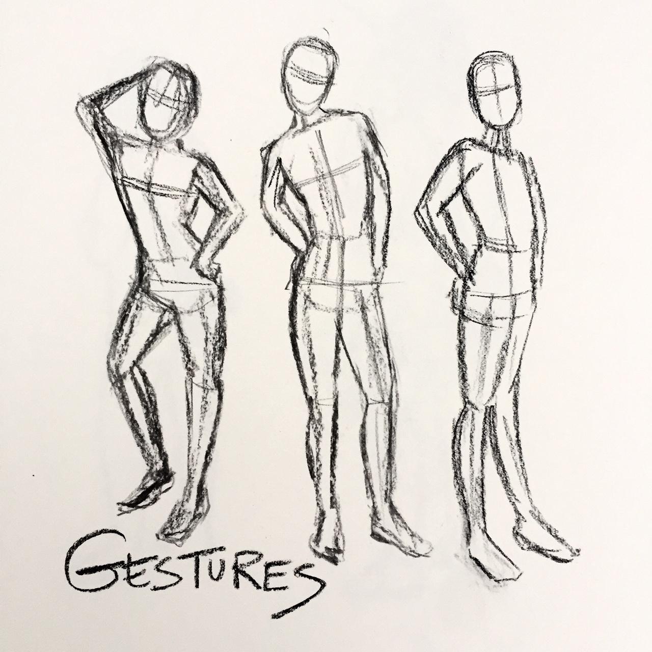 1280x1280 Fundamentals Of Gesture Drawing South Main Creative