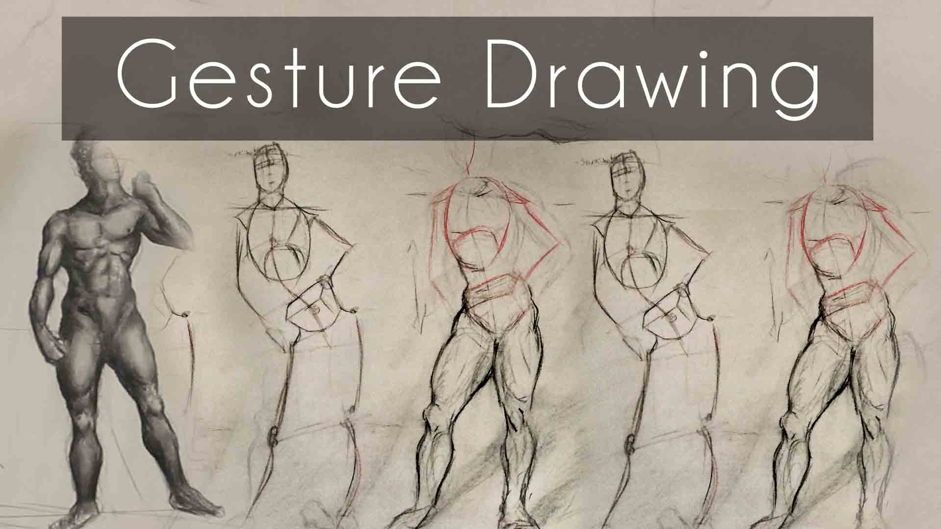1920x1080 How To Do Gesture Drawing (12 Tip Tutorial)