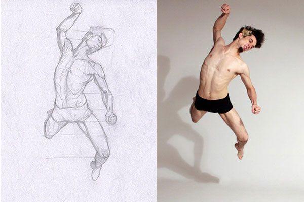 600x400 Razvan Progress 1 Art Figure Drawing, Anatomy