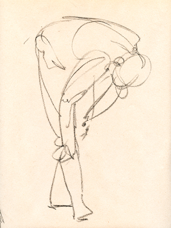 350x467 Back In The (Figure Drawing) Saddle Susan Fox