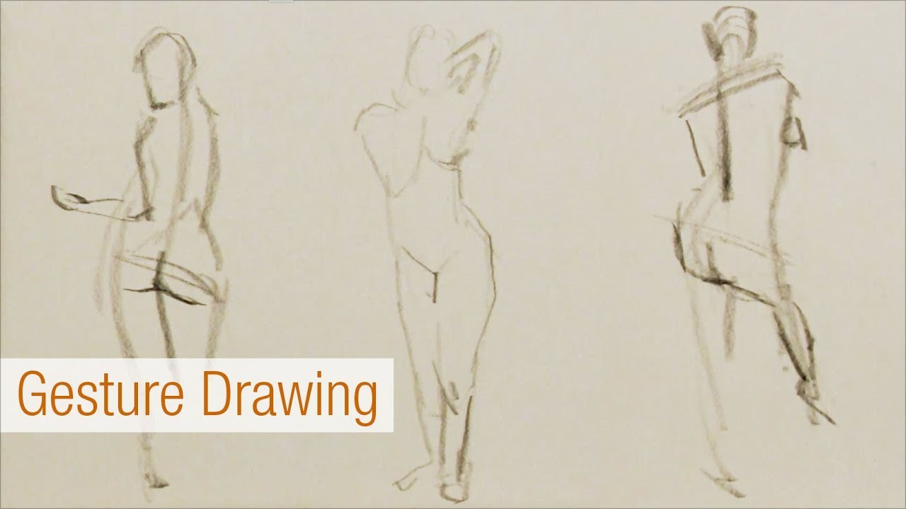 1280x720 Figure Gesture Drawing 1 Minute Or Less