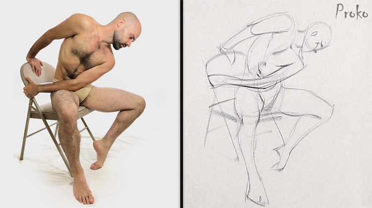 750x420 Review Of Proko's Figure Drawing Fundamentals Course