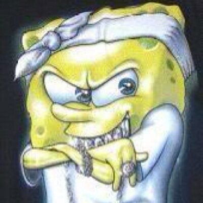 400x400 The Ghetto Spongebob (@theghettosponge) Twitter