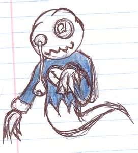 271x300 My Creepy Ghost Drawing By Macz24daddy