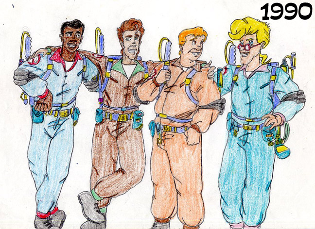 648x472 My Ghostbusters Drawings From 1990 By Mikeysammiches