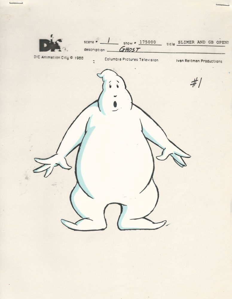 776x1000 1 Dic Slimer And The Real Ghostbusters Color Model Cel