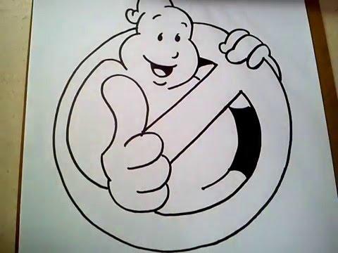 480x360 Como Dibujar El Logo De Los Cazafantasmas Like How To Draw Like