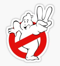 210x230 Ghostbusters Logo Drawing Stickers Redbubble