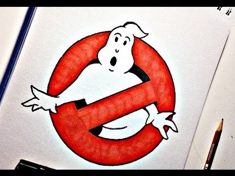 480x360 How To Draw The Ghostbusters Logo
