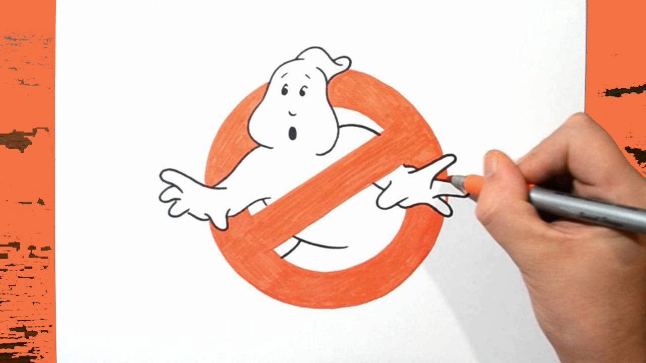 1280x720 Learn How To Draw Ghostbusters Logo
