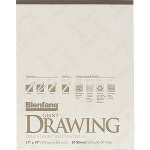 300x300 Giant Drawing Pad 50 Sheets 11x14