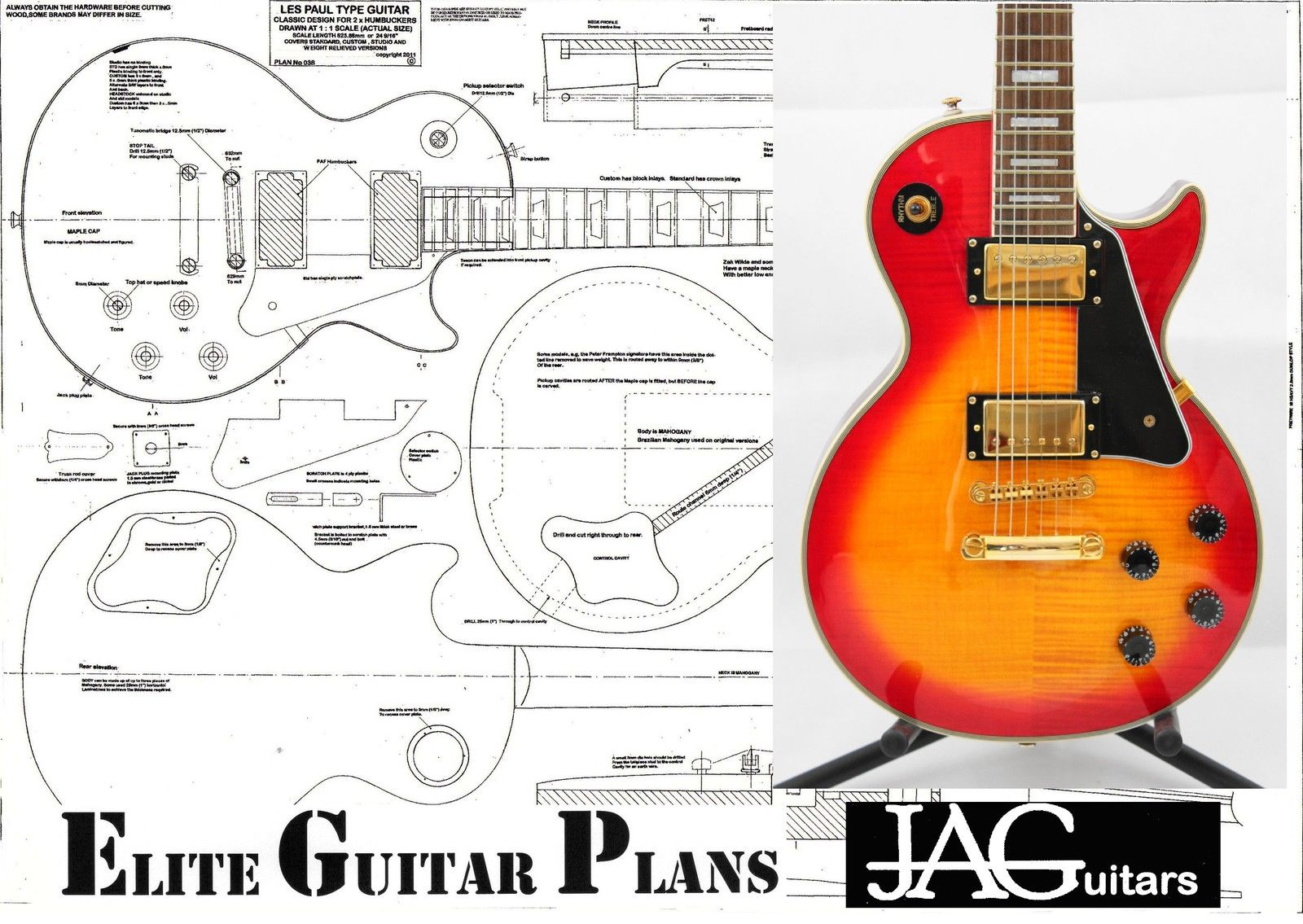 gibson les paul drawing at free for. Black Bedroom Furniture Sets. Home Design Ideas