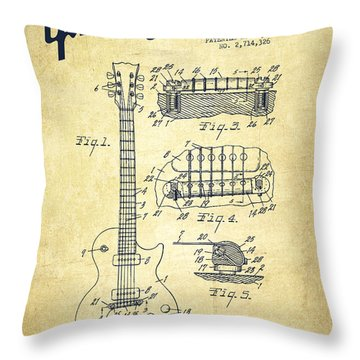 360x360 Mccarty Gibson Les Paul Guitar Patent Drawing From 1955