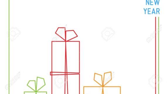 570x320 Christmas Gift Drawings Christmas Card Christmas Presents Gift