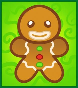 312x350 Gingerbread Man Drawing Tutorial For Kids School Christmas