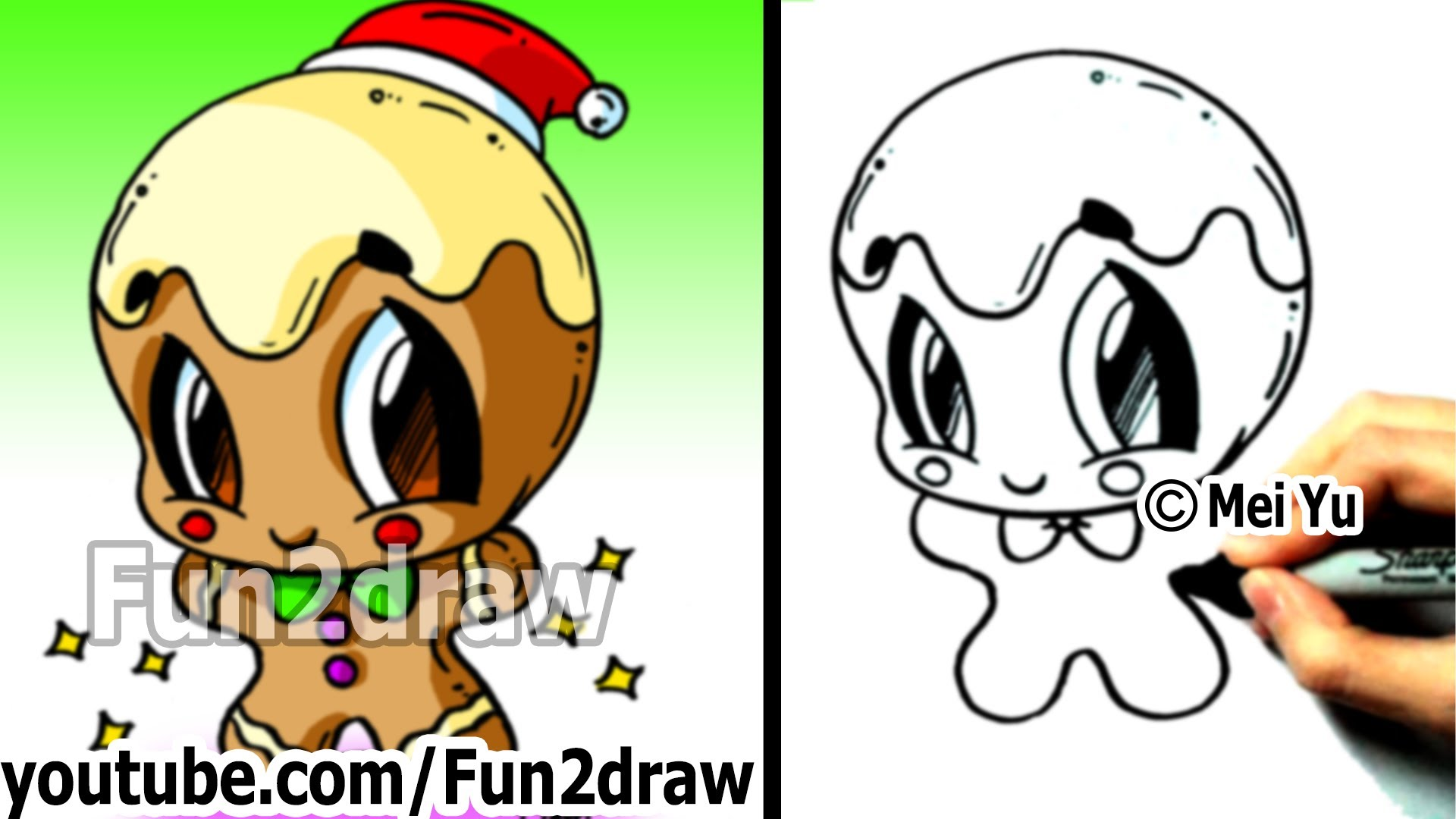 1920x1080 How To Draw Christmas Pictures