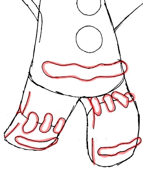 491x582 How To Draw Gingerbread Man From Shrek With Easy Steps Drawing