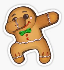 210x230 Gingerbread Drawing Stickers Redbubble