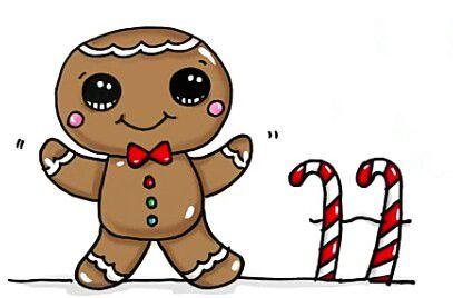 407x268 Gingerbread Man Artdrawings Gingerbread Man