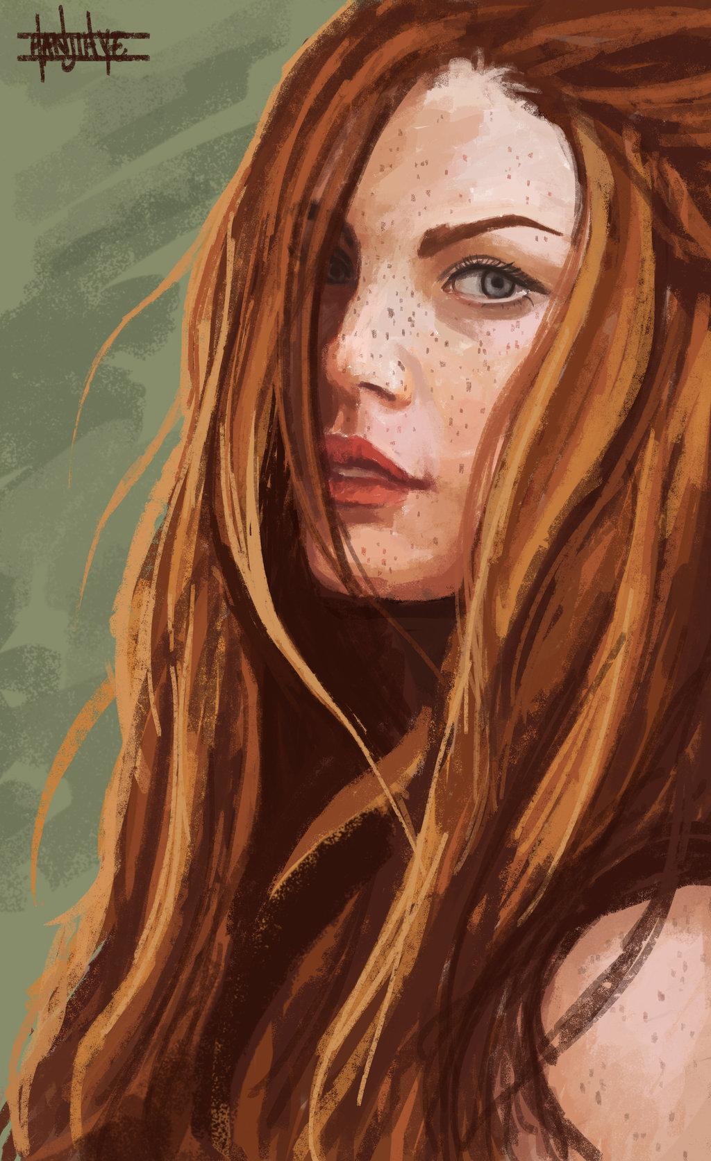 Ginny Weasley Drawing at GetDrawings | Free download