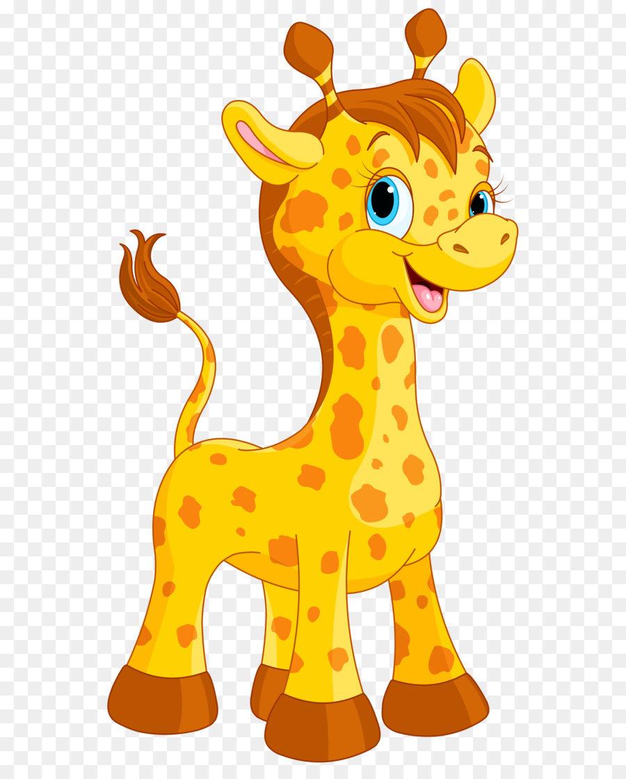 900x1120 Giraffe Cartoon Drawing
