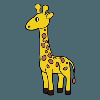 400x400 unusual idea how to draw a girafe giraffe drawing and drawings