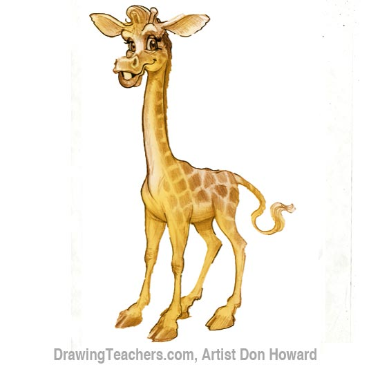 550x531 Giraffe