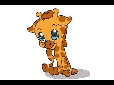 480x360 How To Draw A Baby Giraffe