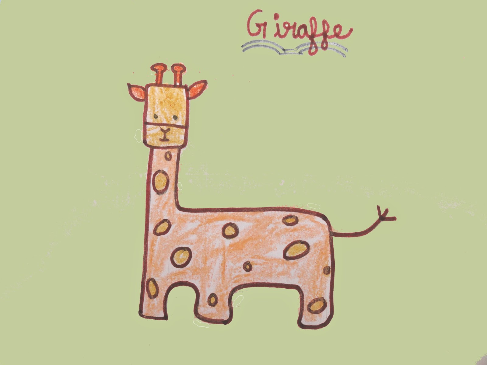 Line Drawing Giraffe : Giraffe drawing easy at getdrawings.com free for personal use