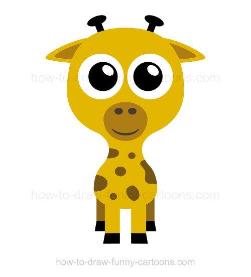 500x552 To Draw A Giraffe