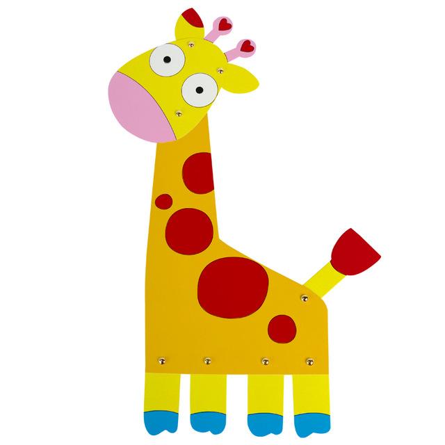 640x640 Draw Kids Paper Craft Paint Animal Cute Giraffe Deer Painting