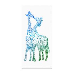 260x260 Abstract Giraffe Art Amp Framed Artwork Zazzle Ca