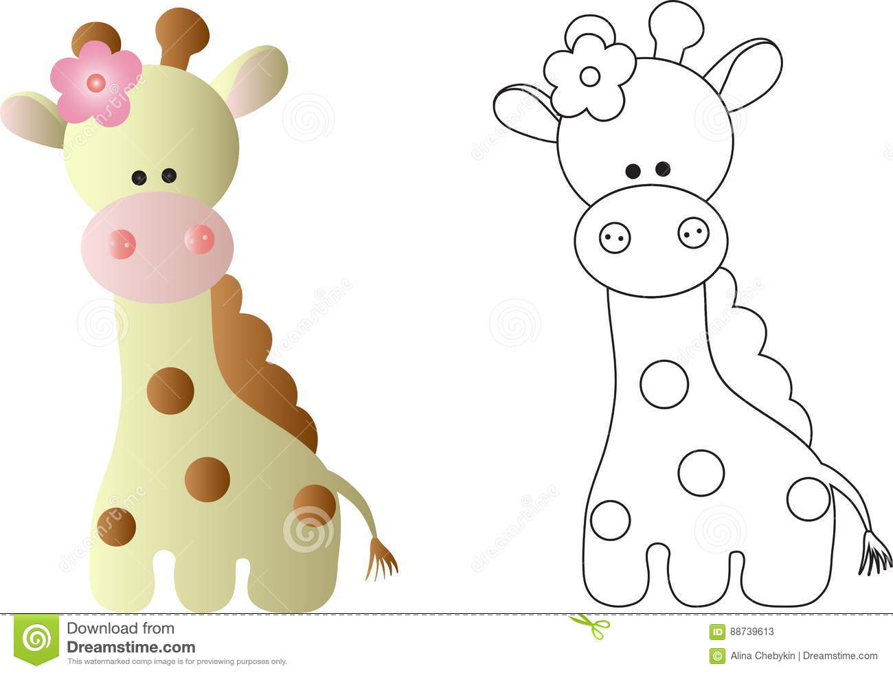 1300x983 Obsession Line Drawing Of A Giraffe Stock Illustrations 745