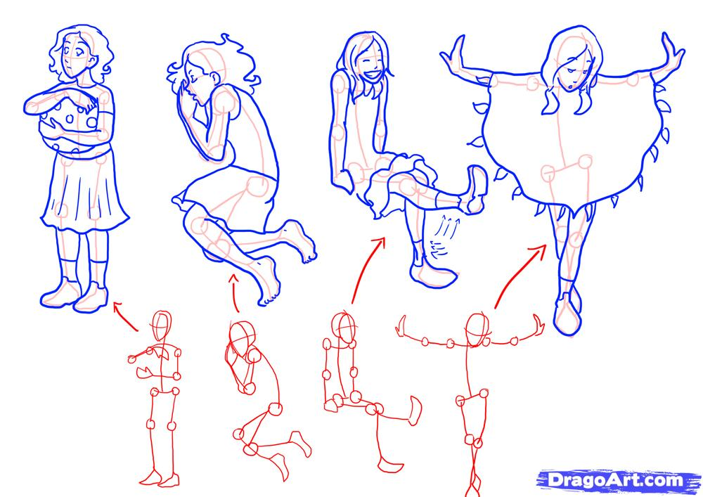 1000x707 Draw A Girls Body, Girl Body, Step By Step, Drawing Sheets, Added
