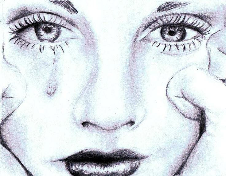 736x575 girl crying photo drawing step pinterest photo draw and