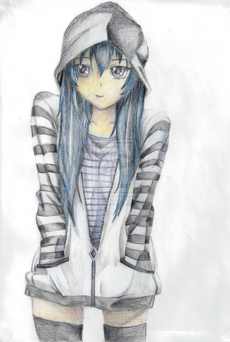 Girl Drawing Ideas At Getdrawings Com Free For Personal Use Girl